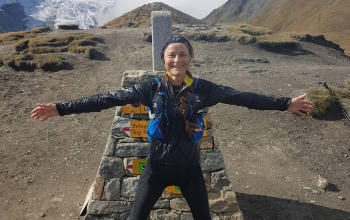 seneste udgivelse af Trailmagasinet - Foto fra turen rundt om Mt. Blanc