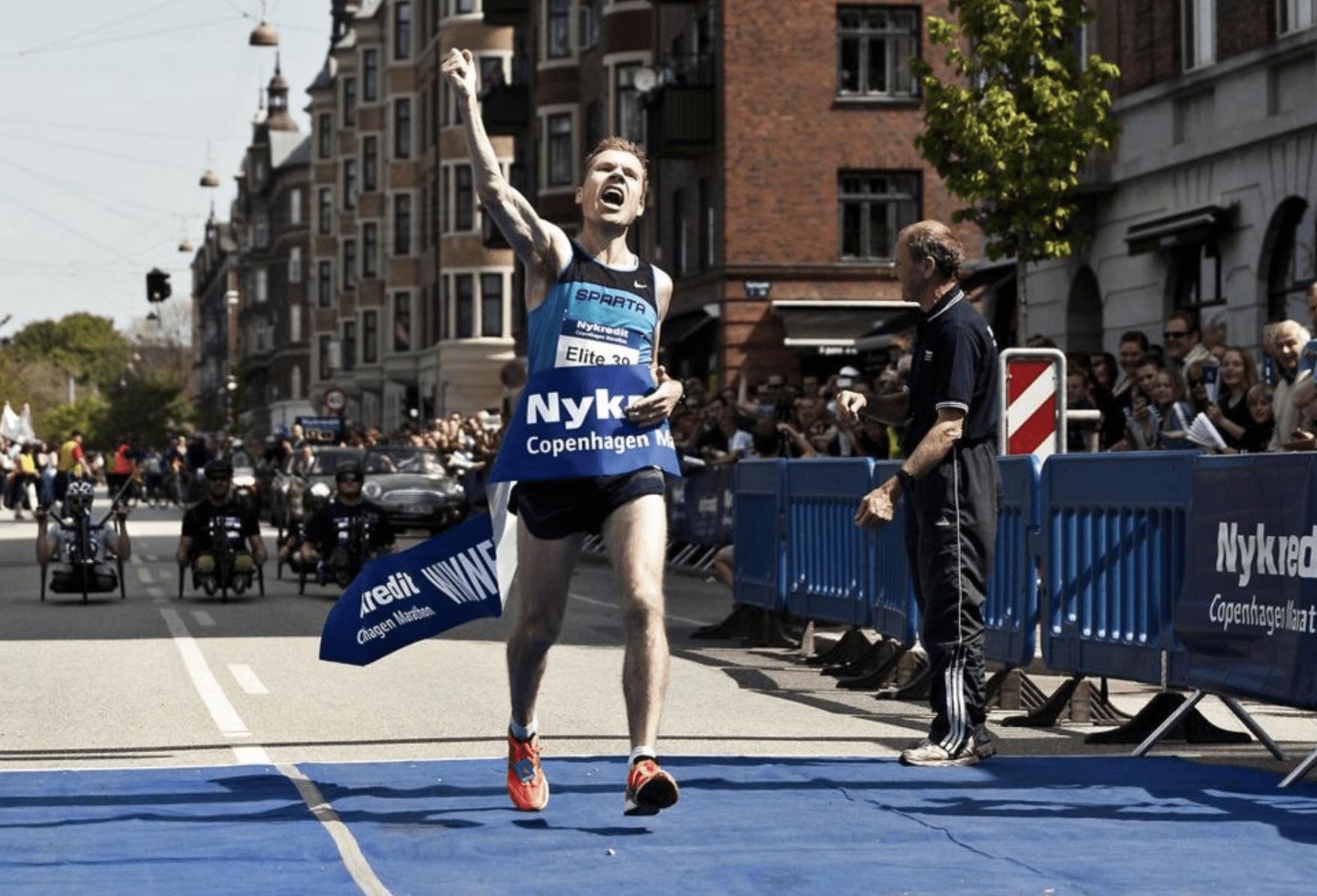Martin Parkhøi til sit perfekte løb 2012