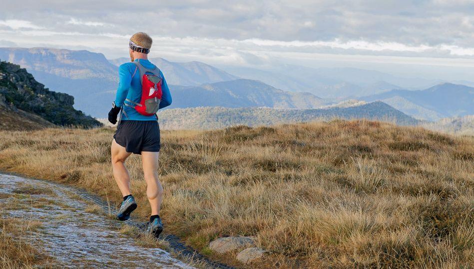 Anders A Hansen trailløber og ultraløber - En del af det danske Traillandshold