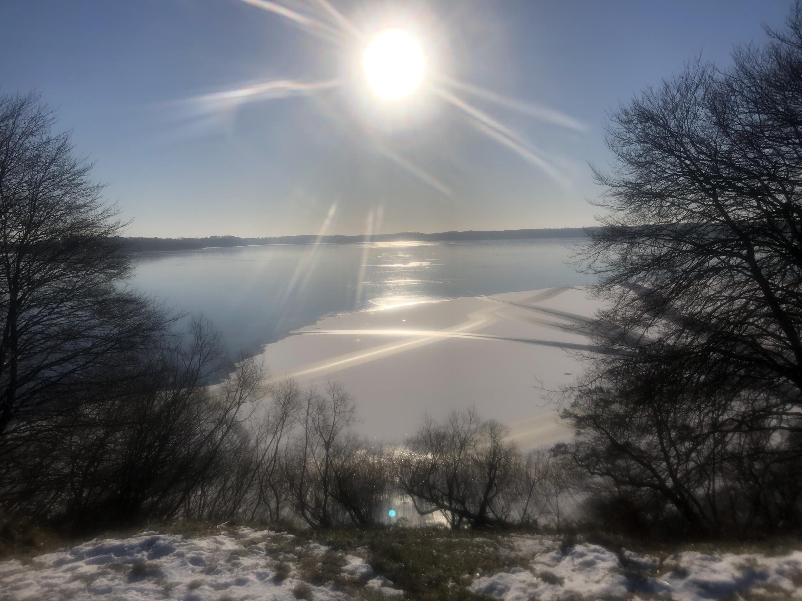 Frostklar morgen