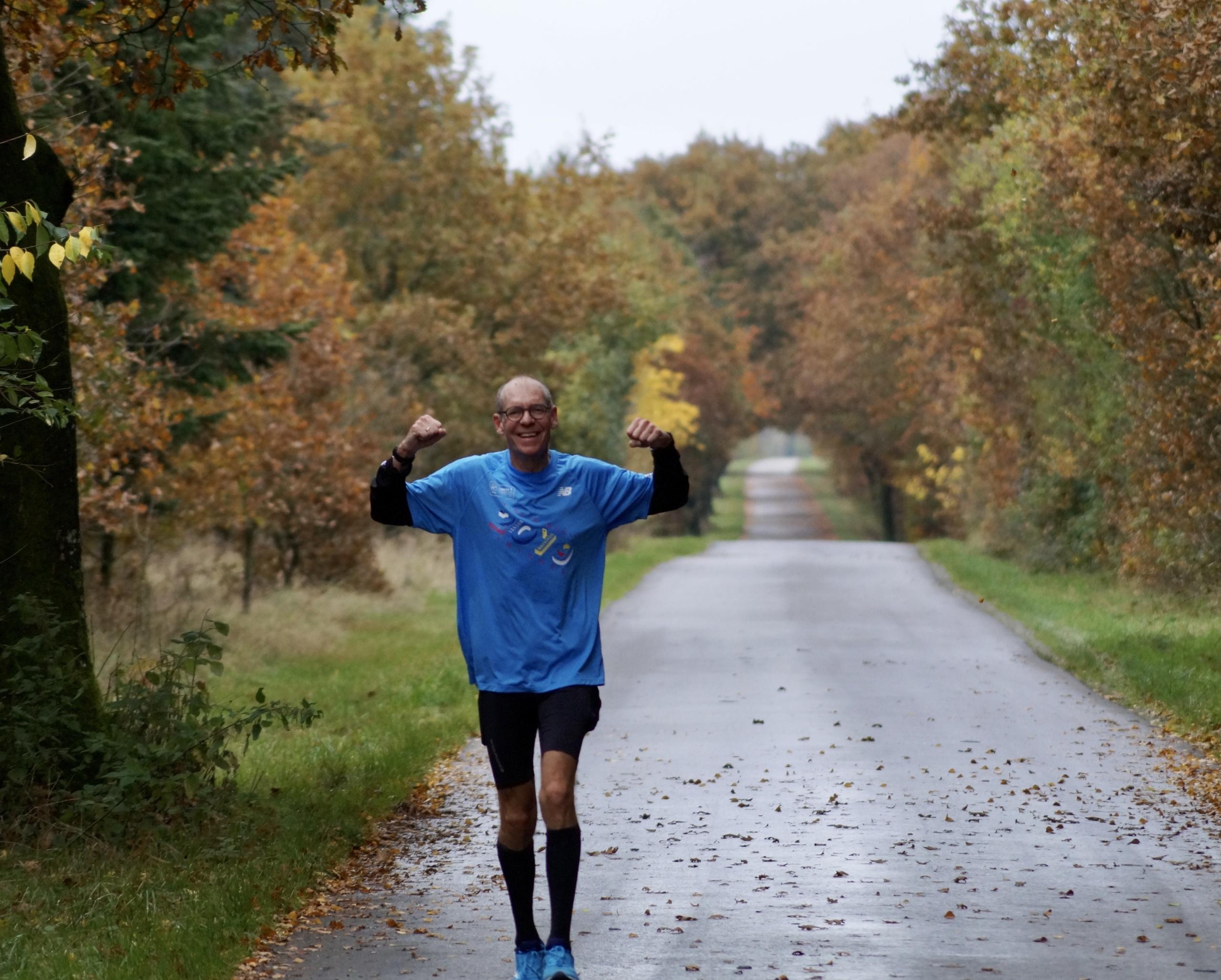 Henrik Andersen Løber fra Frankrig til Roskilde