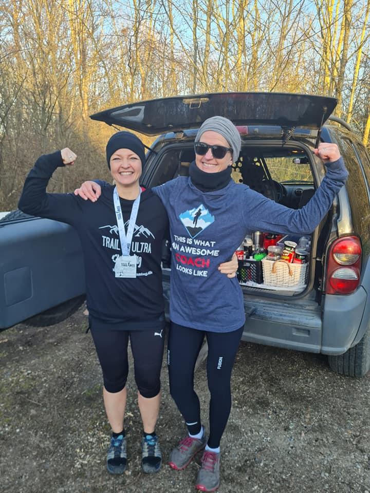 Ultraløber Helene Rohrberg løber 100 km på en råkold lørdag