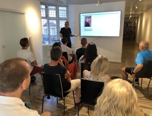 Foredrag om ultraløb fra syd Frankrig til Roskilde fordelt over 113 etaper af hver ca 15 km